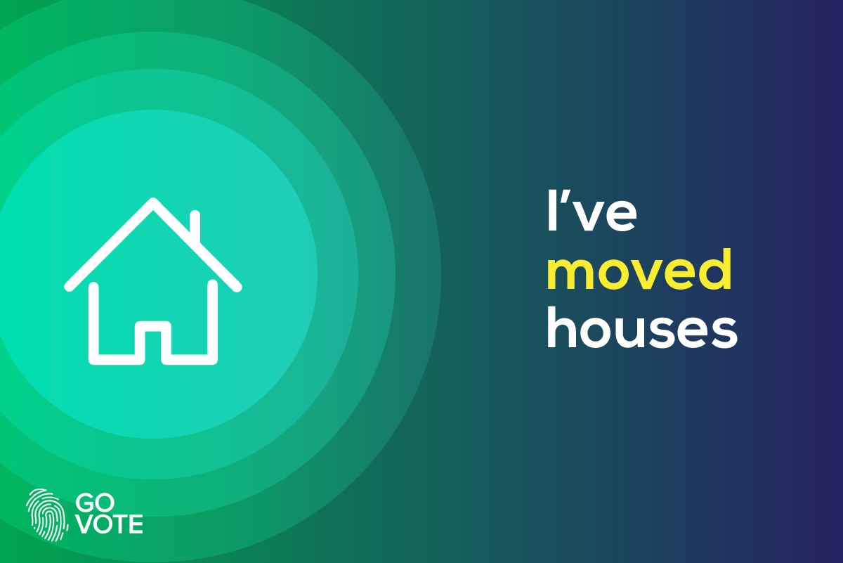 Moved houses